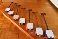 小学校での出張三味線授業