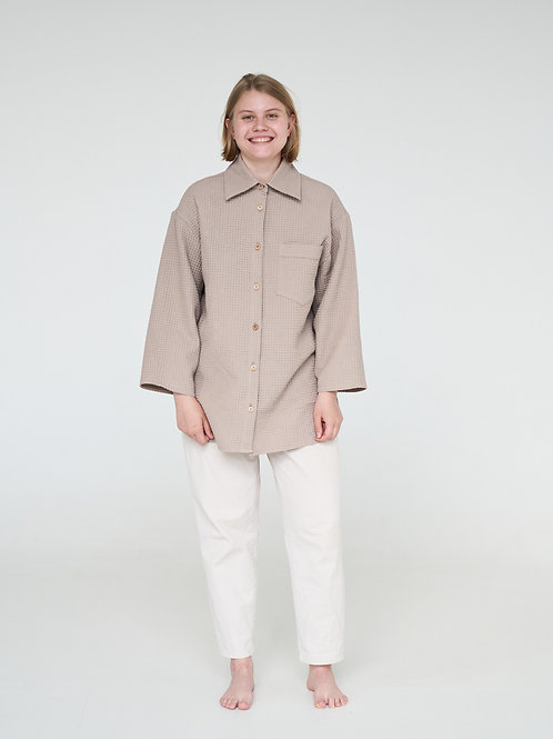 "Рубашка ""Норвежская вафля с крем-брюле"""