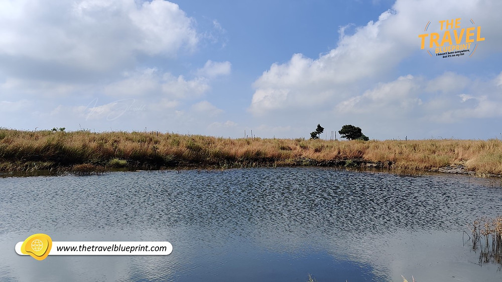 Lake on the top of Viratgad Fort