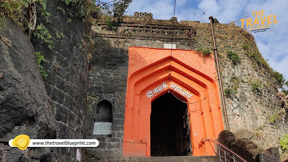 Sajjangad Fort: Shree Samarth Mahadwar