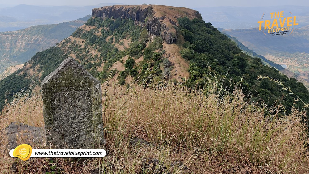 At the highest point on Viratgad Fort