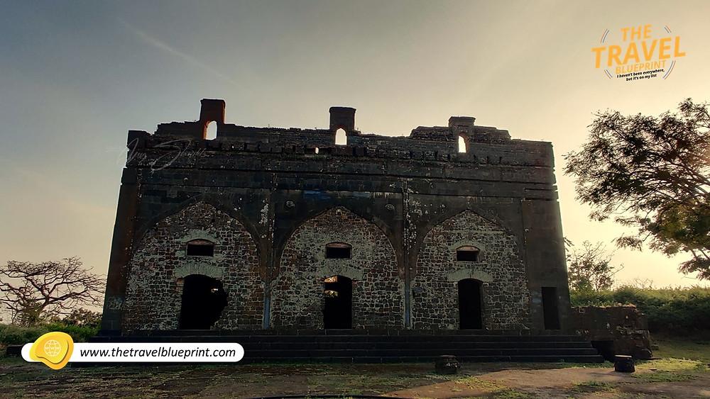 Narnala Fort: Ambar Mahal a.ka. Durbar Hall and Jama Masjid