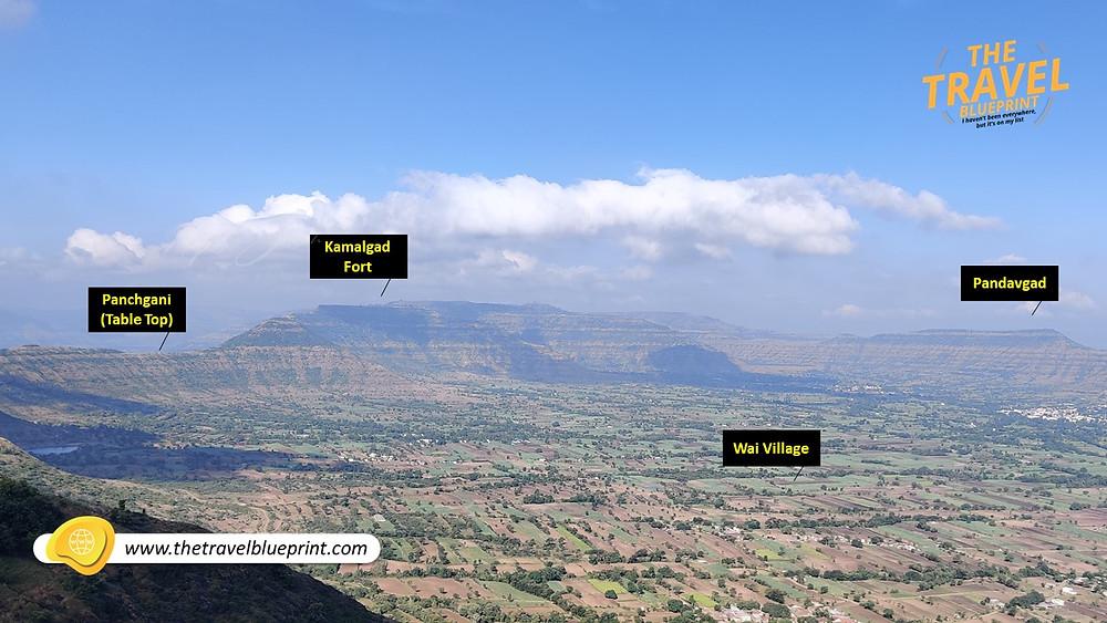 Panoramic From Vairatgad Fort