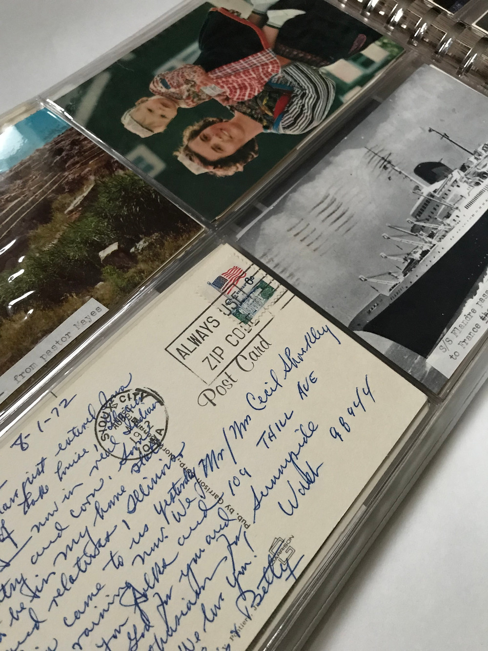 Collection of Postcards by Pauline Shockley