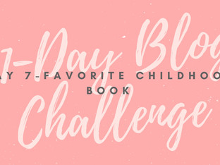31-Day Blog Challenge: Favorite Childhood Book