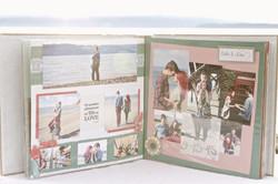 Custom Wedding Scrapbook