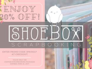 Spring Scrapbook Sale!