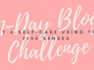 31-Day Blog Challenge: Self-Care