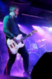 An image of Luke performing live.