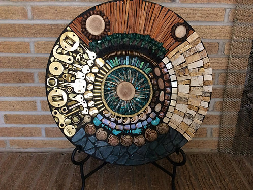 """Earth Element Series"" Mosaic #4"