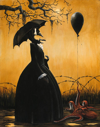 Mother Goose Dystopic 1 by Artist Richard Biffle
