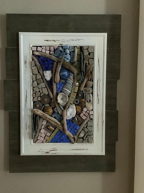 """Tiny Pieces"" Wall Mosaic"