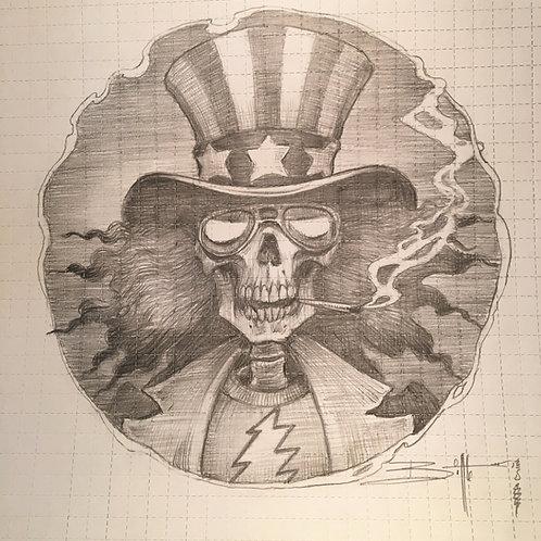 """""""Uncle Sam Higher Hatter """" OG"""