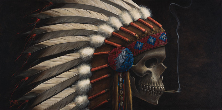 Head Cheif by Artist Richard Biffle