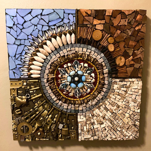 """Earth Element Series"" Mosaic #7"