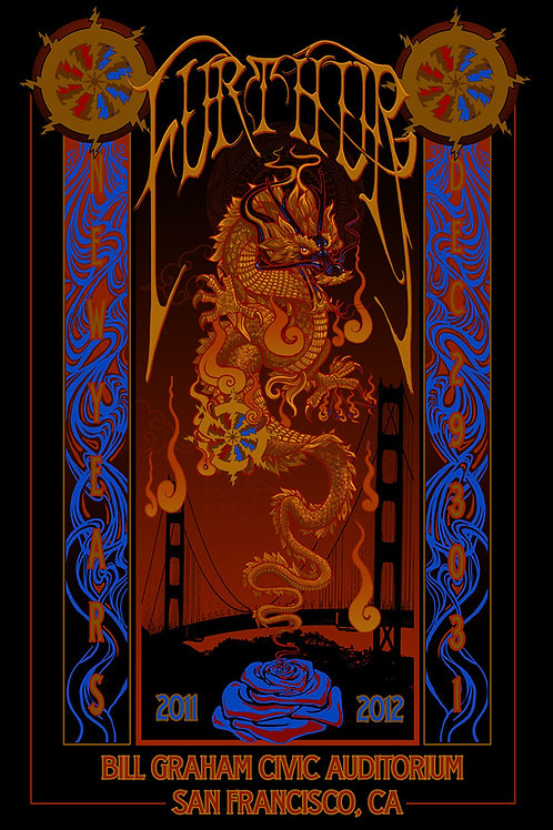 "Furthur New Year ""Dragon with Matches"" ScreenPrint"