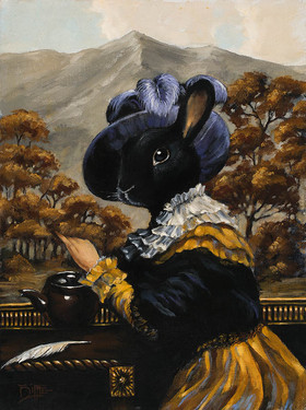 Mahma Bunny by Artist Richard Biffle