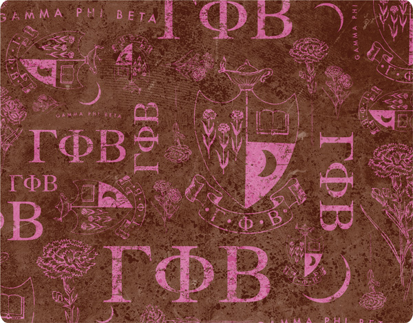 gamma-phi-beta-brown-pattern-print