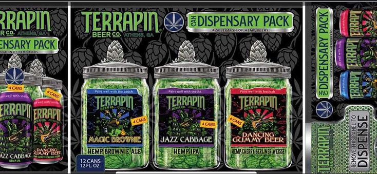 Terrapin Beer Co. Dispensary Pack Artist Richard Biffle