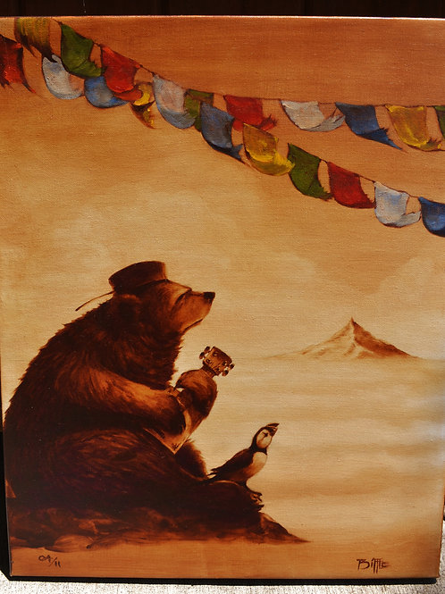 """On Rocky Mountain High"" Embellished Canvas Reproduction #4 of 11"