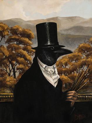 Old Crow by Artist Richard Biffle