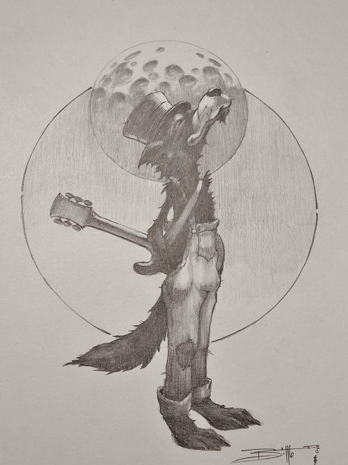 """""""Howlin Dire Wolf"""" OG"""