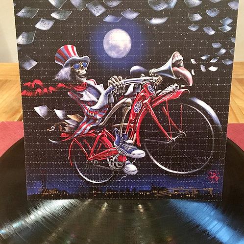 """Bicycle Daze"" Set of 2 Blotter Prints"