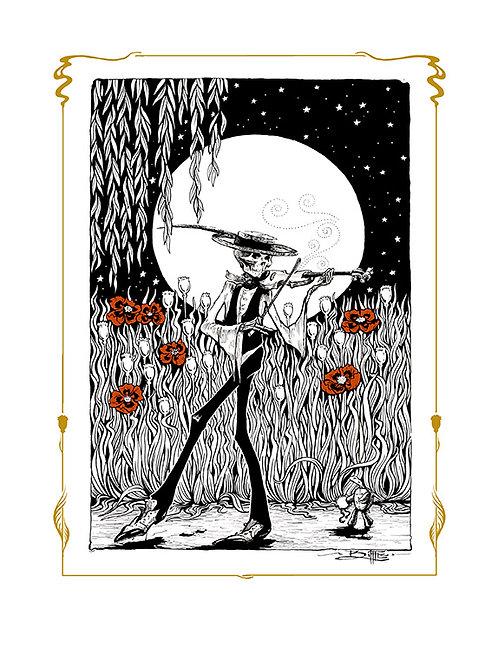 """""""Terrapin Moon"""" ScreenPrint"""