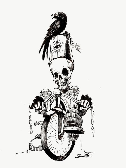 """Shrine On"" Original Quill n Ink"