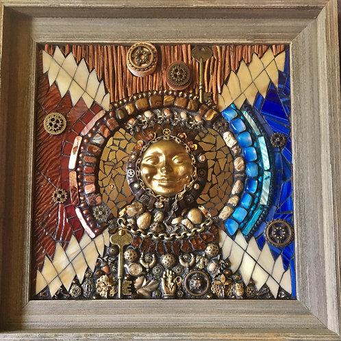 """Attics of My Life"" Grateful Dead Wall Mosaic"