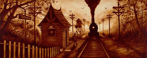 Last Stop by Artist Richard Biffle