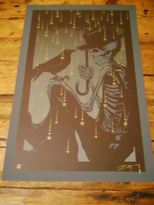 """Box of Rain"" Screen Print from the Vault"