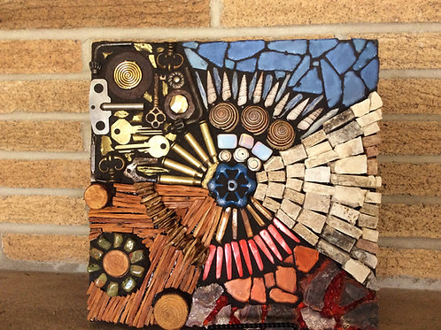 """Earth Element Series"" Mosaic #1"