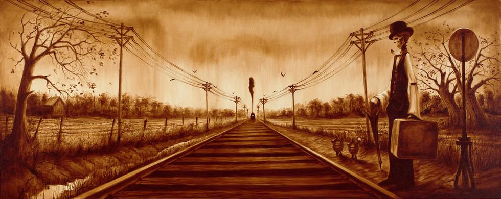 End or Beginning by Artist Richard Biffle
