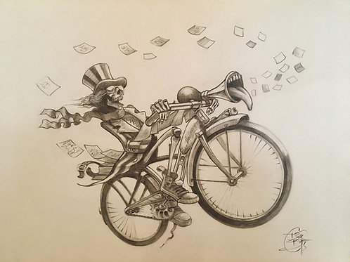 """""""Hofmann Bicycle Daze"""" OG"""