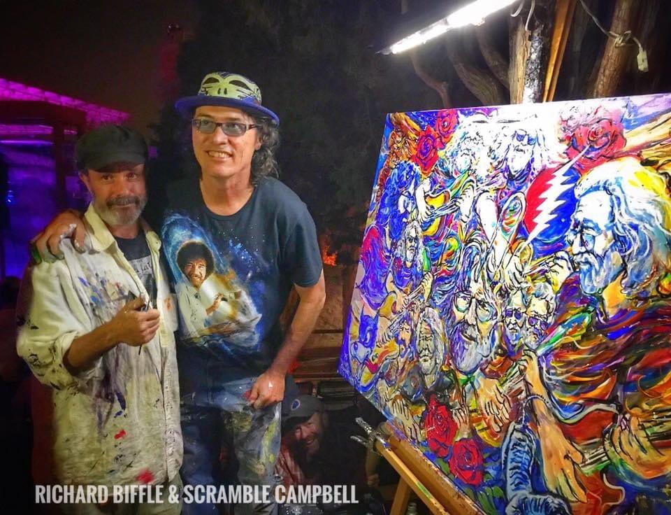 Richard Biffle & Scramble Campbell