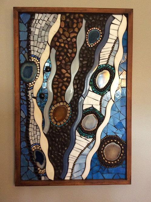 """""""Agate River"""" Mosaic"""
