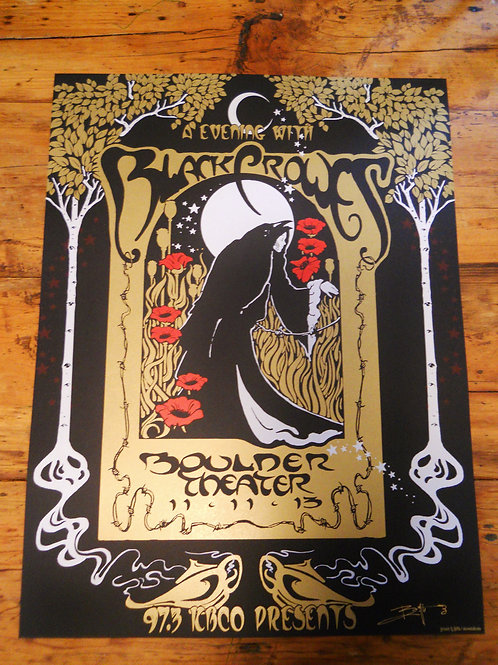 The Black Crowes  11/11  ScreenPrint