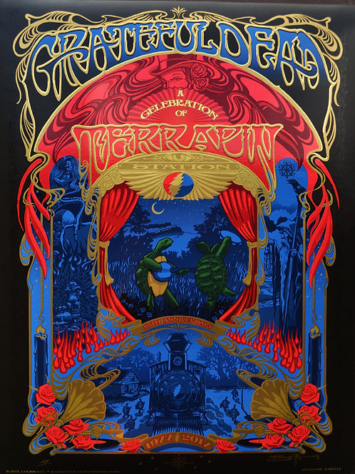 """Grateful Dead Terrapin 4D Years"""