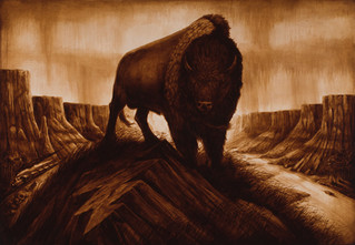 Wake of the Flood by Artist Richard Biffle