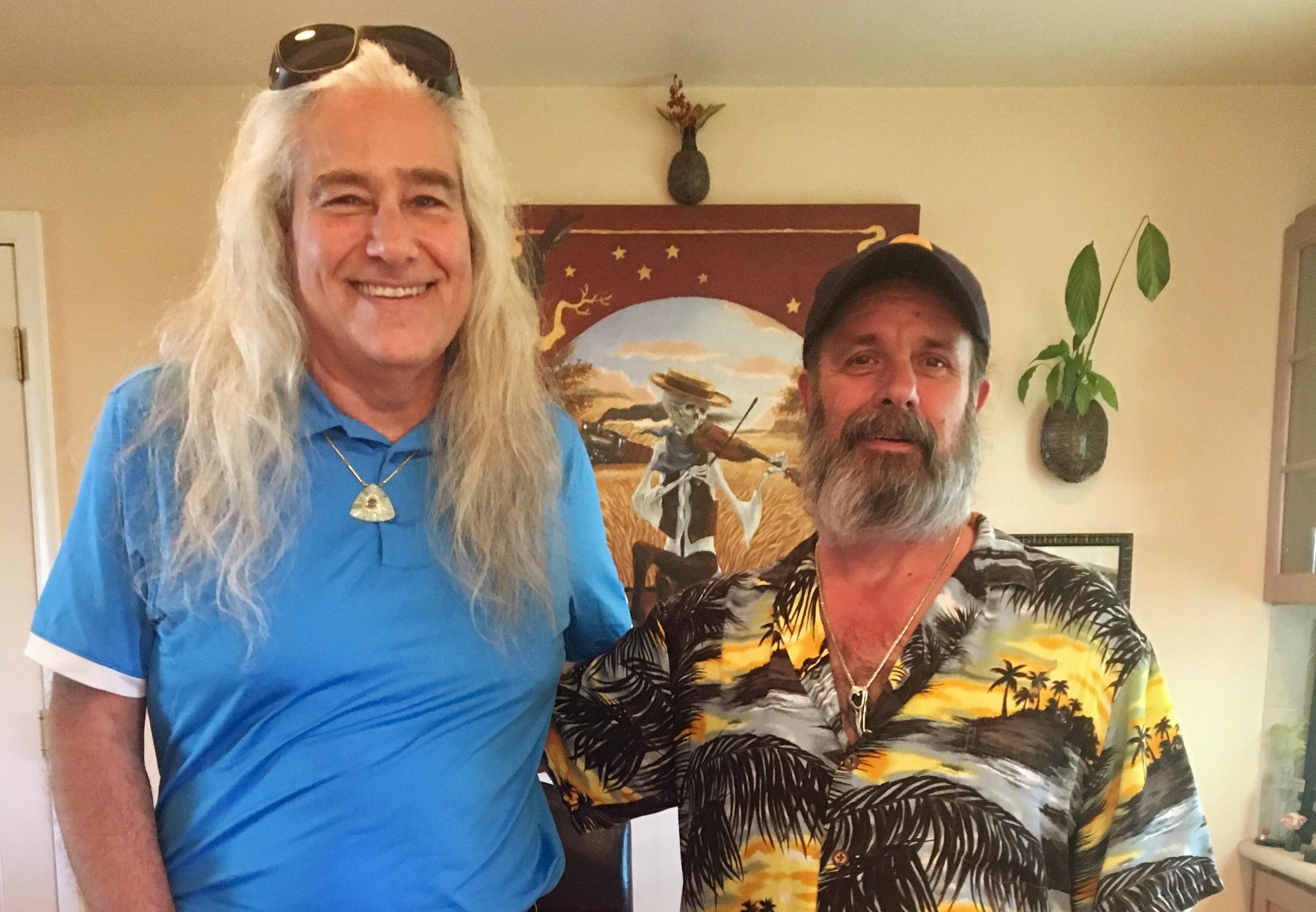 Silversmith David R. Freeland, Jr. & Richard Biffle