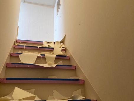 地震で傷んだ壁紙の張替えは仙台の内装リフォーム専門店インテリア井上にご相談ください。