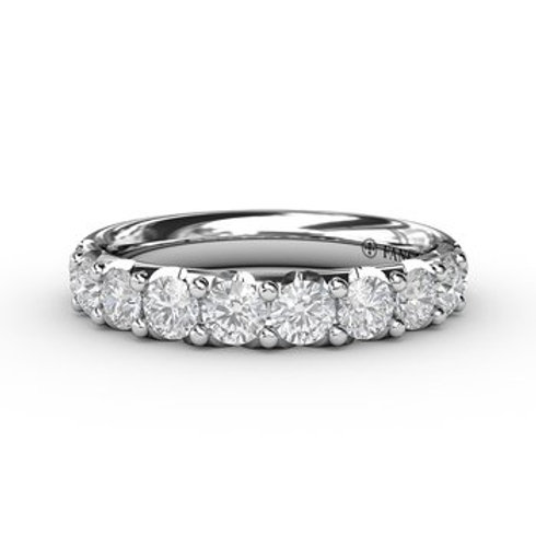 14 Karat White Gold 1.07 Carat Diamond Fana Ring