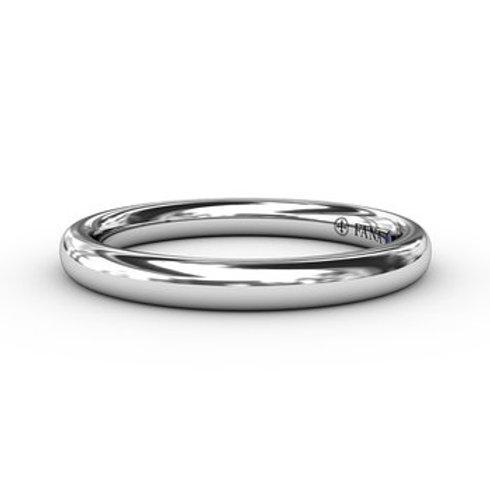 14 Karat White Gold Fana Ring