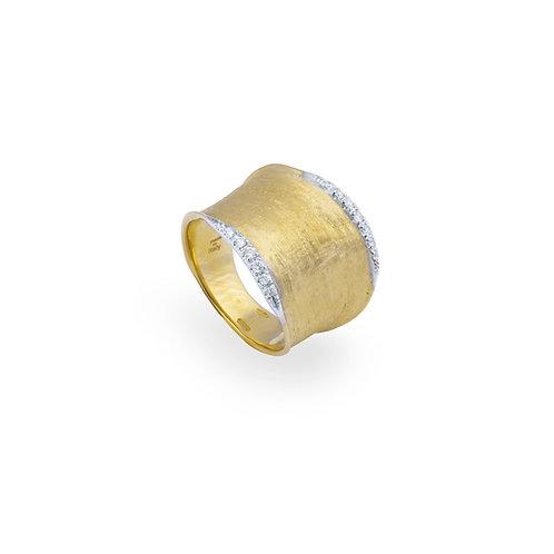 18 Karat Yellow Gold Lunaria Marco Bicego Ring