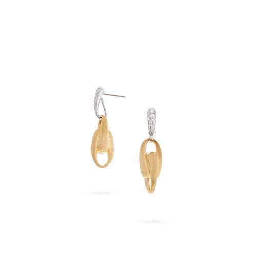 18 Karat Yellow Gold Lucia Marco Bicego Earrings