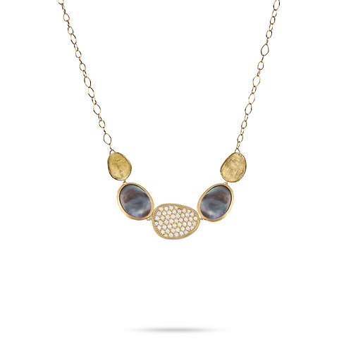 18 Karat Yellow Gold Lunaria Marco Bicego Necklace