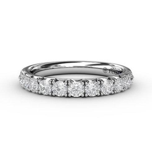 14 Karat White Gold .65 Carat Diamond Fana Ring