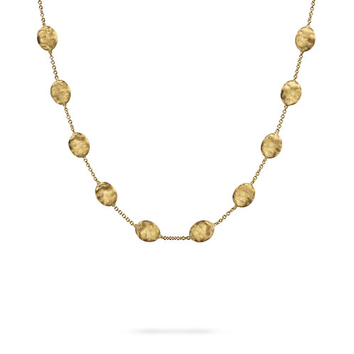 18 Karat Yellow Gold Siviglia Marco Bicego Necklace