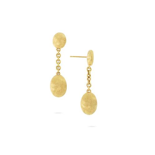 18 Karat Yellow Gold Siviglia Marco Bicego Earrings